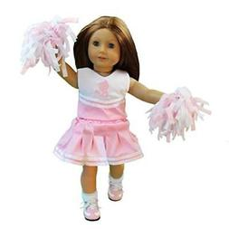 Cheerleading Doll Clothes for American Girl Dolls