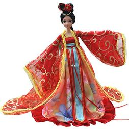 Beautiful Chinese Style Handmade Ancient costume Dress for 1