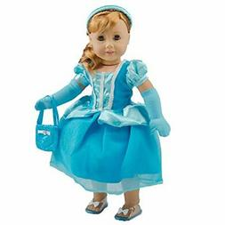 Dress Along Dolly Cinderella Inspired Doll Clothes Outfit fo