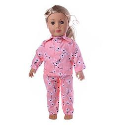 Wensltd Clearance! Cute Design Pajamas Clothes Set For 18 in