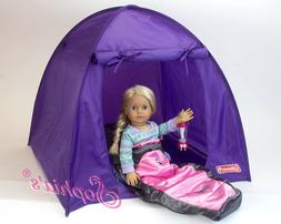 Coleman® Doll Tent Camping by Sophia's® sized for 18 Inch