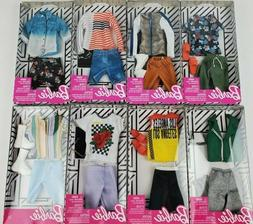 Barbie Complete Fashion Looks clothing packs lot of 2 styles