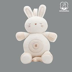 Natural Color Cotton Stuff Animals Baby Toy Rabbit hang in S