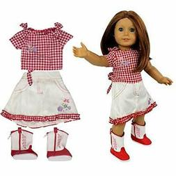 Cowgirl Doll Outfit for American Girl Doll