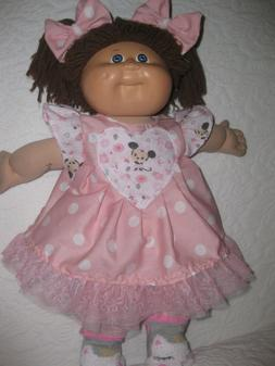 cpk doll clothes 16 18 inch pink