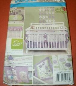 CRIB NURSERY INFANT Baby ROOM ACCESSORIES Quilt Simplicity S