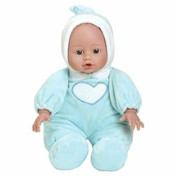 "Adora Cuddle Baby Doll Blue 13"" Boy Weighted Cuddly Washable"