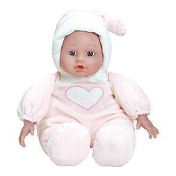 "Adora Cuddle Baby Doll Pink 13"" Girl Weighted Cuddly Washabl"