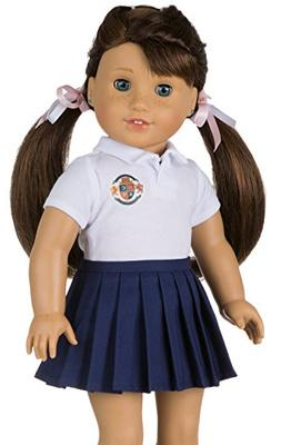 CUSTOMIZABLE School Uniform for American Girl Doll   YOUR OW