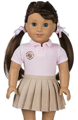 Customizable School Uniform for American Girl Doll | Your OW