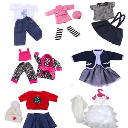 Cute Doll Clothes Set For 18'' Doll Girl Our Generation Doll
