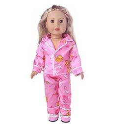 Cute Doll Clothes Outfit for 18 inch Dolls Winter Cuekondy P