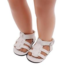 LLguz Cute Design Doll Shoes Sandals Clothes for 18 Inch Our