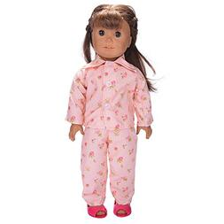 Cute Pajamas Nightgown Clothes for 18 inch Doll Nightgown Cl