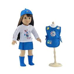 18 Inch Doll Clothes | Daisy Girl Scout-Inspired 5 Piece Out