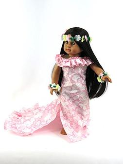 Daniella as a Pink Hawaiian Princess: Includes Brunette Doll