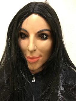 Deluxe Kim Kardashian Mask Full Head Kardashians TV Female D