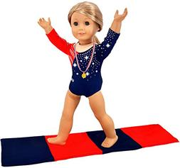 ebuddy 3pcs Diamond Crystal Leotard Doll Clothes for America