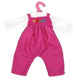 Digood For 18 inch American Girl Doll Cute Baby T-shirt+Romp