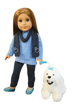 My Brittany's Dog Walker Set for American Girl Dolls- 18 Inc
