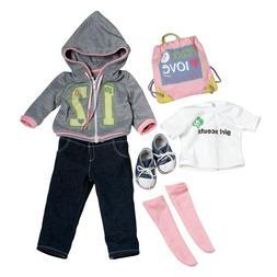"Adora 18"" Doll Clothes - Girl Scout Trendy Ensemble"