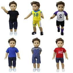ZITA ELEMENT 6 Sets American Boy Clothes   Logan Outfits for