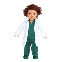 Baby Boys Girls Dolls Doctor or Nurse Clothes Outfits Fits 1