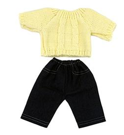 Doll Clothes, AOFUL Sweater Jeans Suit 2 Pieces Suits Outfit