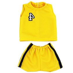 Baby Doll Sports Clothes, AOFUL Basketball Football Summer T