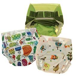 Nicki's Diapers Doll Diaper 3 Pack - Neutral