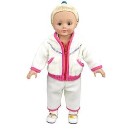 Shero Doll Clothes - 2 Pieces Suit Fits American Girl Doll a