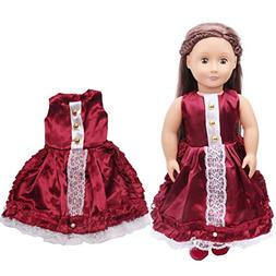 Doll Clothes, Rucan Clearance Pretty Sequins Dress For 18 In