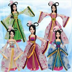 Doll Accessories Traditional Chinese Ancient Doll Clothes Fo