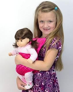 Sophia's Doll Carrier for 15 Inch Baby or 18 Inch Dolls, Sof