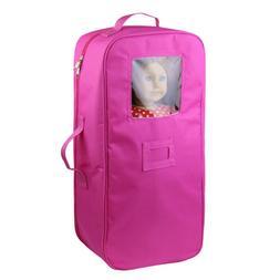 ZITA ELEMENT Doll Carrier Bag Travel Case for American 18''