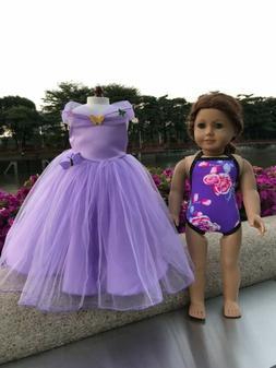 Doll Cinderella ball grown dress Swimwear for American girl