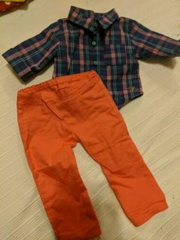 """American Girl Doll Clothes, 18"""" doll clothes Set- 2 Piece"""