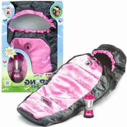 """Doll Clothes 18"""" Sleeping Bag Lantern Coleman Sized For Amer"""