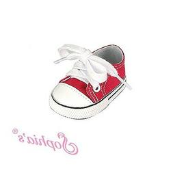 doll clothes 18 sneakers shoes red sophia