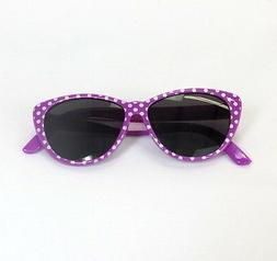 "Doll Clothes 18"" Sunglasses Lavender Polka Dot Fits American"