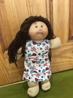 """Doll Clothes 4th Of July Dress Fits 16"""" 18"""" Cabbage Patch Ki"""