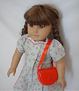 "Doll Clothes Accessories - Red Shoulder Purse for 18"" Dolls"