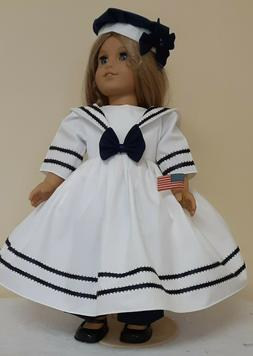 DOLL CLOTHES AND ACCESSORIES FITS AMERICAN GIRL DOLL'S. SAIL