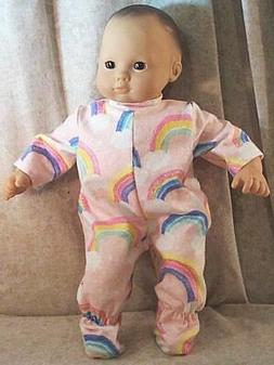 """Doll Clothes Baby Made 2 Fit American Girl 15"""" inch Bitty Fo"""