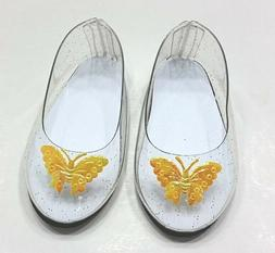 DOLL CLOTHES - CINDERELLA SLIPPERS -  fits  AMERICAN GIRL  A