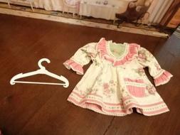 Adora Doll Clothes Dress And Hanger Lot