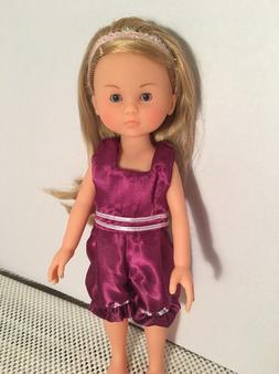 "Doll CLothes Dress Fit 13"" Corolle Les Cheries Romper Jumpsu"