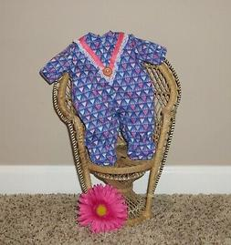 "Handmade Doll Clothes for 11"" - 13"" Baby Dolls - ""Happy Girl"