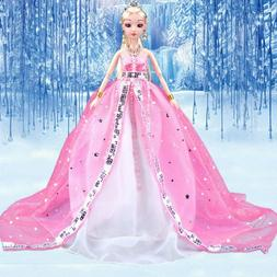 """Doll Clothes For 11"""" Barbie Doll Outfits Wedding Dress Eveni"""
