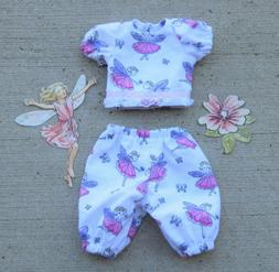 "Handmade Doll Clothes for 12"" - 14"" Baby Dolls - ""Fairies"" P"
